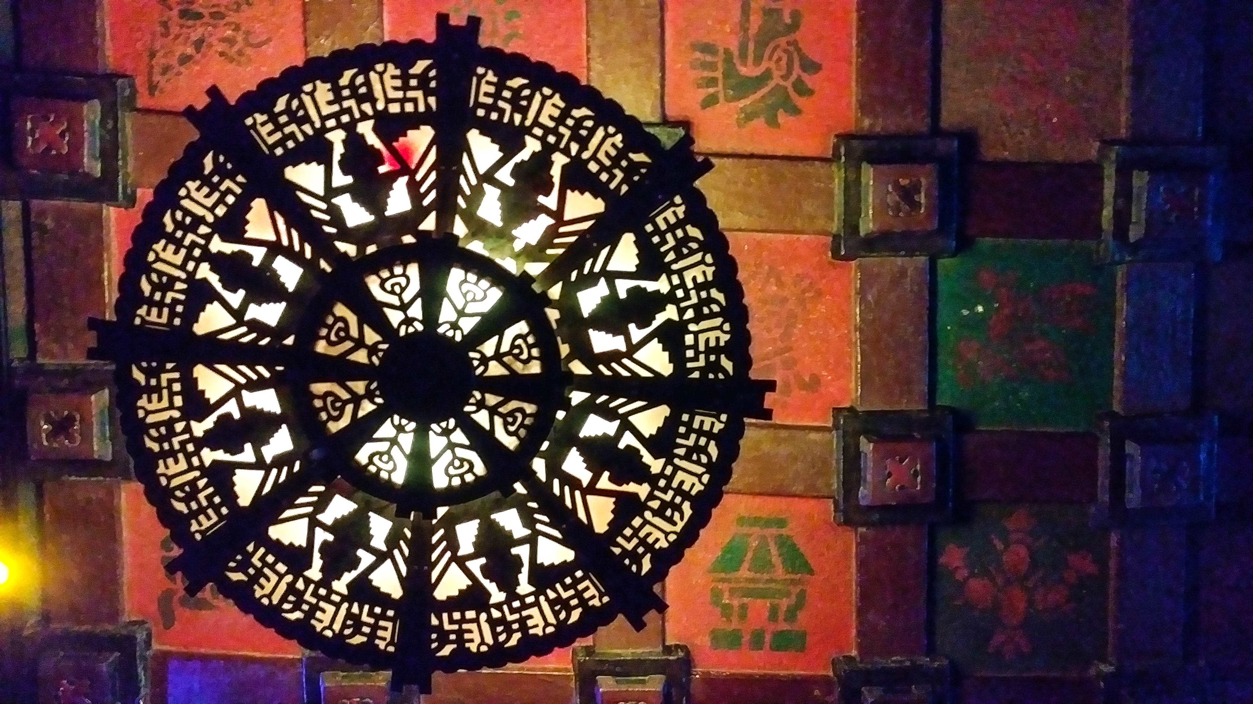 Lobby light - The Mayan Theater - Downtown LA