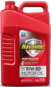 Havoline sae 10w 30 high mileage engine motor oil 5 quart for Is havoline motor oil good