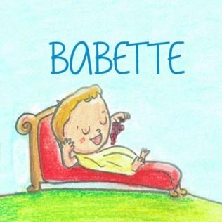 sticker babette1