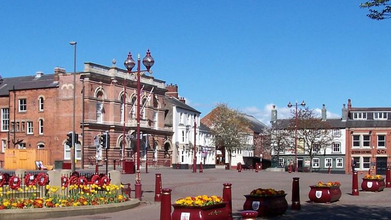 Ilkeston Town Centre