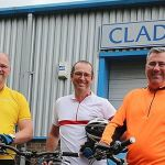 Big-hearted bosses get on their bikes