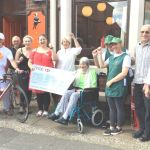 Dennis in charity bike ride to Skegness