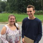 Students at Kirk Hallam Community Academy have been celebrating their A-Level results