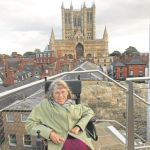 Letter – Lincoln Castle – an unlikely place for wheelchairs
