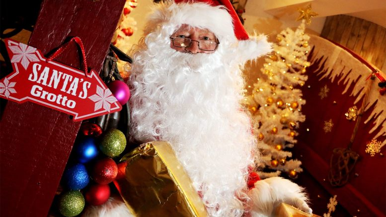 Museum goes festive with Santa's Grotto