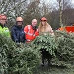 Tree-mendous service raises thousands for local hospice