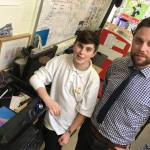 Teacher uses 3D printer to help injured pupil