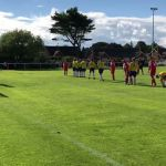 Ilkeston fans go crazy when Town score late equalising goal.Ilkeston towns fc 1s…