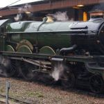 Train fans… We're told the Steam Locomotive 5043 Earl of Mount Edgecumbe consi…