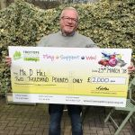 Super Draw leads to Super Win for Ilkeston Man…