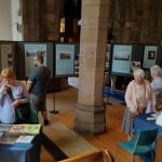 Last day of Aspects of Ilkeston today.  Lots of people came along to see this di…