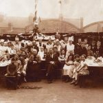 Street Party at Brussels Terrace, Ilkeston celebrating King George 5th's Silver …