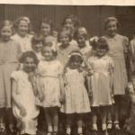 St Mary's Mission School Anniversary about 1958.  Names on the back of the pictu…