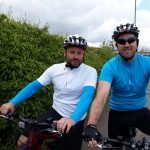 Hot cycle ride for charity…