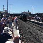 Flying Scotsman coming in to Ilkeston station.  Video by Bill Smith.Scotty sat 3…