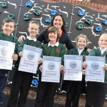 Two schools are celebrating after becoming the first in Derbyshire to achieve th…