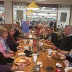 Breath Easy Ilkeston group enjoying their Big Breakfast at Morrisons, their annu…