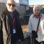 Councillor John Frudd and a resident visited Trent Barton buses at their Langley…