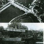 Not Ilkeston, but these photographs may be of interest.  They show the widening …