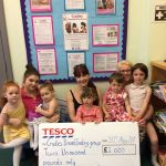 Tesco went to Lower Whitworth Road, Ilkeston to celebrate the Cradles Breastfeed…