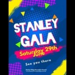 It's Stanley Village Gala this Saturday afternoon on the recreation ground….