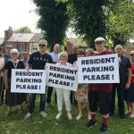 PRESS RELEASE – Maggie backs residents in fight for parking permit scheme…