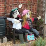 A few early photographs from the West Hallam Well Dressings and Scarecrow Festiv…