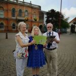 East Midlands in Bloom judges in IlkestonThe East Midlands in Bloom judges are i…