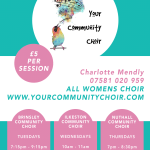 New Community Choir launches in Ilkeston…