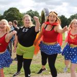 Radio station superheroes raise over £300 for Treetops Hospice…