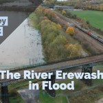 The River Erewash in Flood Feat. Bennerley Viaduct – Long Eaton