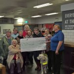 TimeSwap knitters have raised £400 towards the training of a guide dog…