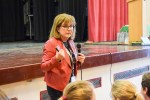 Lessons in online safety were on the timetable for students at Saint John Hought...