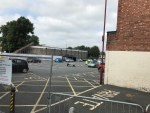 There was quite a queue of cars at Pimlico car park today for the Coronavirus te...