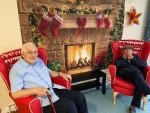 Residents of Oliver House Nursing Home in Kirk Hallam are looking forward to a C...