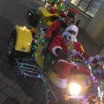 Santa and helper did a practice run in Ilkeston last night.  They were spotted o...