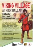 Saturday 2nd October the Vikings are coming to Kirk Hallam !