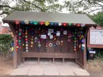 How about this to brighten up your wait at the stop stop?  Members of Shipley WI...