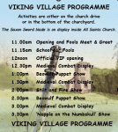 Less than a week to go before the Viking invasion in Kirk Hallam!  Erewash Muse...