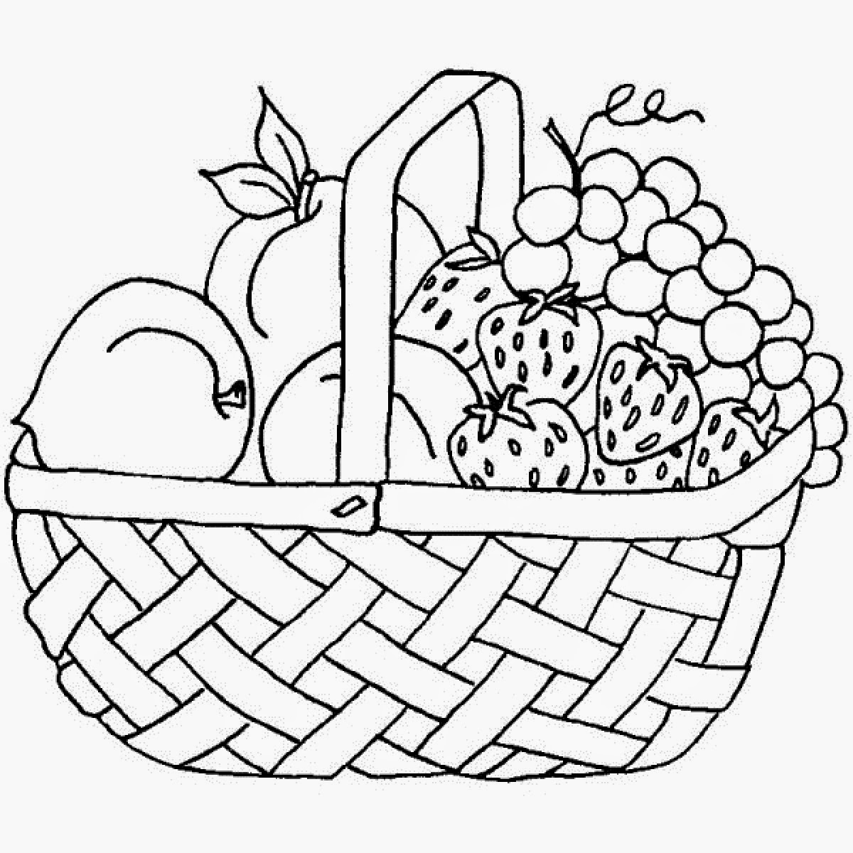 Adult Coloring Page 7 Fruits Of The Spirit Unique Fruit Coloring