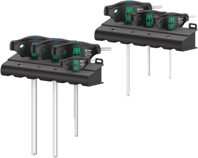 Die ideale Griffform vom Wera 454/7 HF Set 1 Schraubendrehersatz ermöglicht die Übertragung besonders hoher Anzieh- und Lösemomente.