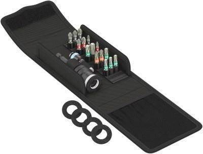 Das kompakte Wera Terrassenbau-Set T 1 mit den 17 wichtigsten Schraubwerkzeugen für die Terrassen-Verschraubung. Inbegriffen sind Bits in...