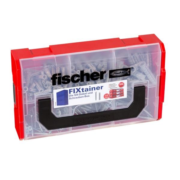 Die SX-Dübel und Schrauben-Box enthält den fischer Dübel SX und die entsprechenden Schrauben (210 Teile). Die FixTainer-Boxen sind mit...