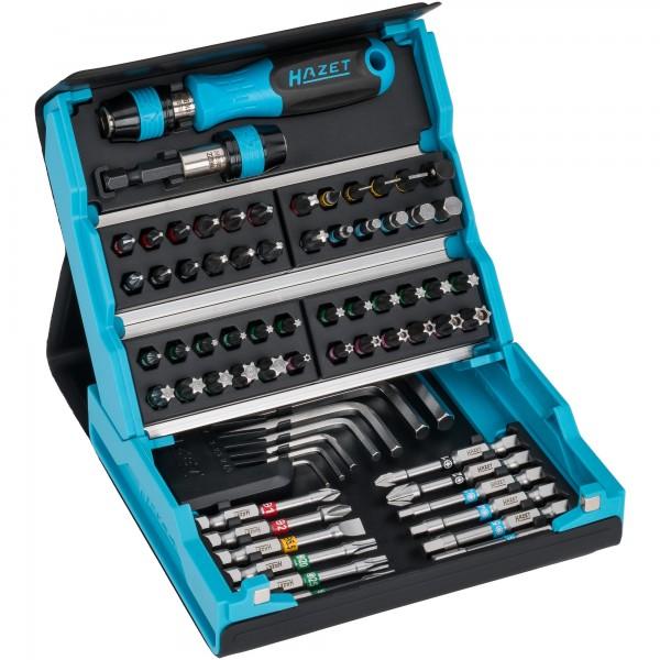 """Entwickelt und produziert """"Made in Germany""""Innovatives. Das Konzept vom HAZET 2200SC-1 BIT - SATZ gleicht eines kompakten, klappbaren..."""