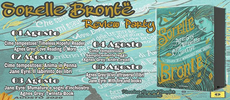 """Review Party """"Sorelle Brontë- I capolavori delle impareggiabili penne sororali"""""""