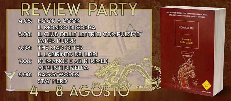 "Review Party ""Fiamme nella palude"" di Eoin Colfer"