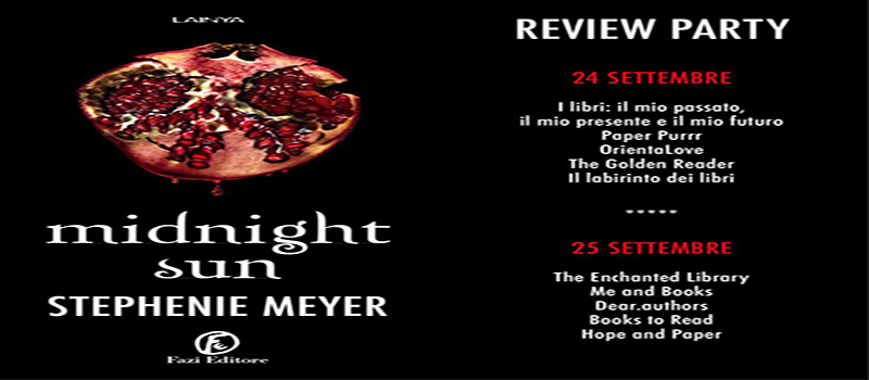 "Review Party ""Midnight sun"" di Stephenie Meyer"