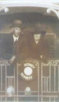George Smith and Emily Margaret Smith (nee Stevenson) Circa 1939