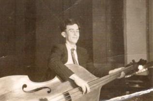 Base player with Max Jones Quartet.