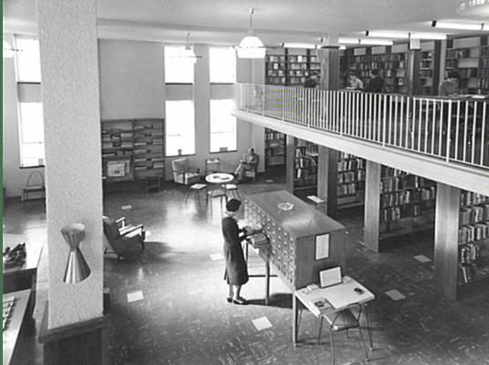 Wollongong City Library 1959